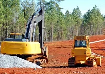 Ground excavation & Back filling