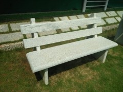 TWO PC BENCH THREE SEATER