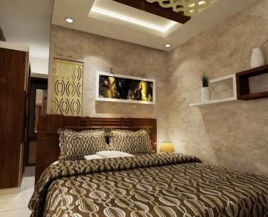 Bedroom & wooden cupboard