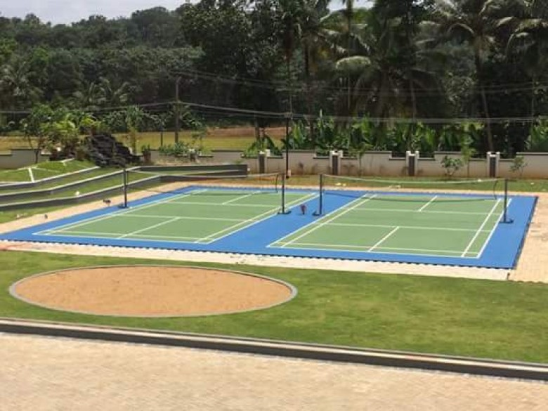 Synthetic Acrylic Courts