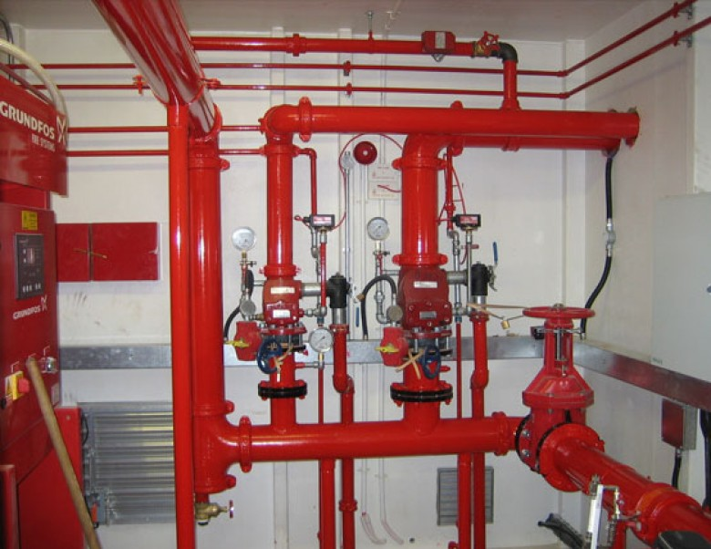 Water Based Fire Protection System