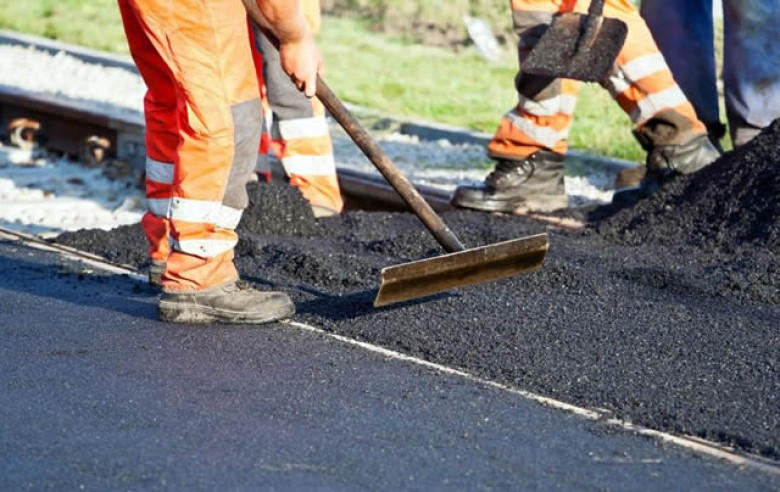 Road maintenance and road construction