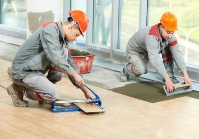 Flooring & Tiling Work
