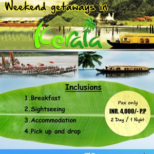 WEEKEND GETAWAYS IN GODS OWN COUNTRY !!!!
