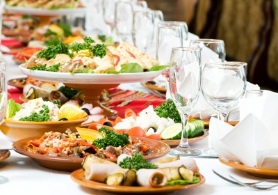 Event management & catering services.