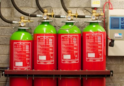 Gas Based Fire Protection System